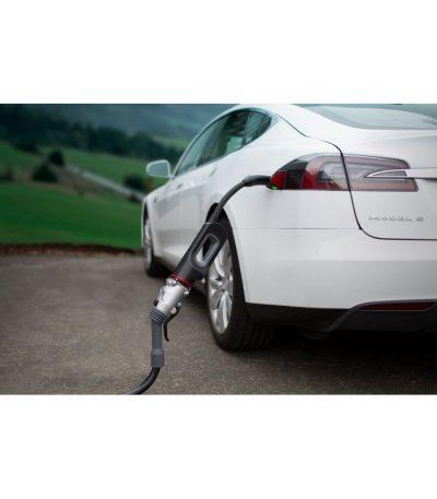 Tesla EU adapter för laddning av elbilen vid CHAdeMO-uttag