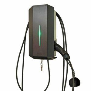 Garo GLB laddbox 3,7kW 16A 230V med fast kabel typ 2