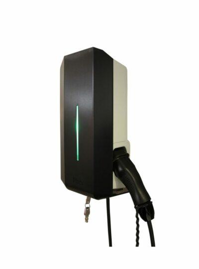 Garo laddbox 22kW 32A 400V med fast kabel typ 2