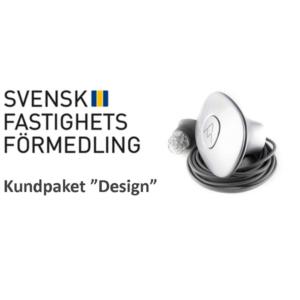 """Svensk Fastighetsförmedling kundpaket """"Design"""""""