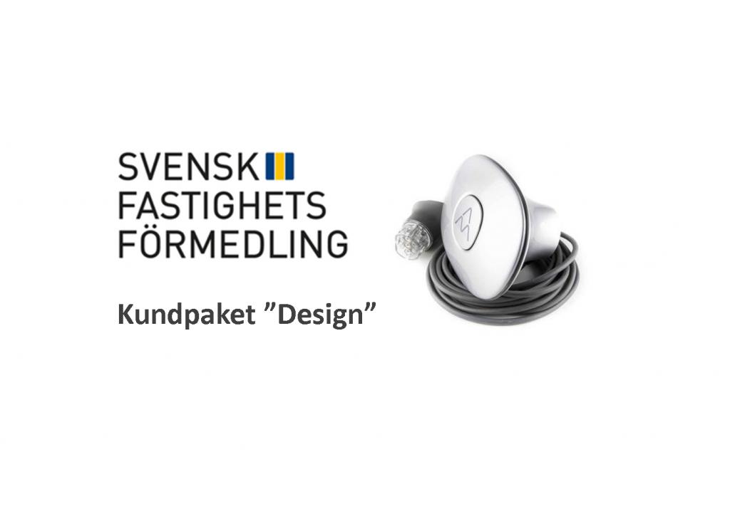 Laddstation paket design Halo charge-amps Svensk fastighetsförmedling EV Solution laddbox elbil
