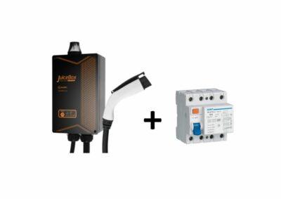 Juicebox Ladda elbilen App Juicebox Laddbox EV Solution laddstation laddkablar Pro 32 Emotorwerks