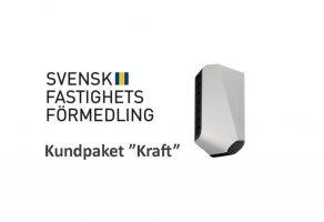 Laddbox ladda elbil Svensk Fastighetsförmedling Kraft EV Solution