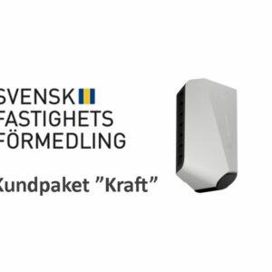 """Svensk Fastighetsförmedling kundpaket """"Kraft"""""""