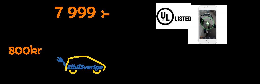 Laddbox laddkablar juicebox bärbar ladda elbilen EV Solution snabbladdare ladda hemma klimatklivet ladda-hemma-stöd elbil