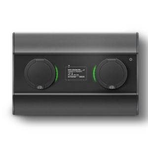 Wallbox Duo Mini laddbox med dubbla uttag typ 2 7,2kW