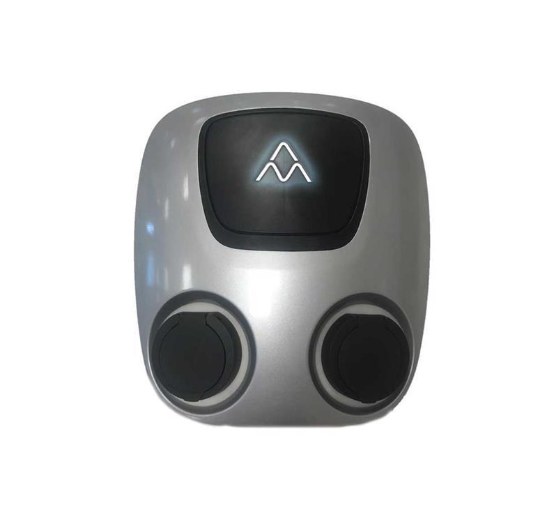 Charge-Amps Aura EV Solution Ladda elbil laddstation laddbox elbil Nissan Kia BMW jpeg