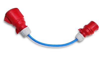 Go-eChargerHOME+ mobile laddstation ladda elbilen elbil EV-Solution-AB adapter 32 till 16A