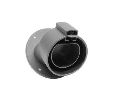 Kabelhållare vinklad Vinklad kabelhållare - Typ 2 kontakt (J1772) - Elbilgrosissten – EV Solution - Chargestorm - EVConnect - Eways